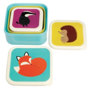 Rusty Fox lunchbox set Animals