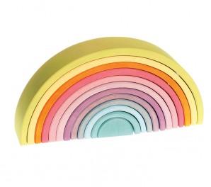 Arco iris (Rainbow) WALDORF grande – PASTEL