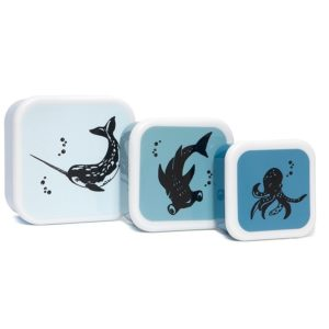 Lunchbox SET Sea animals – NEW!