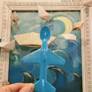 Cuchara avión – BLUE