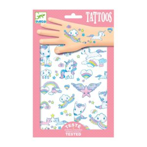 Tattoos DJECO – Unicornios