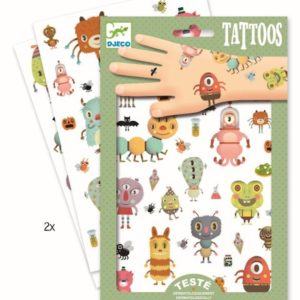 Tattoos DJECO – Monstruos