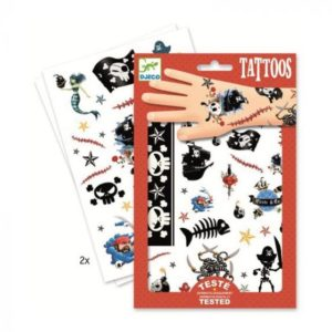 Tattoos DJECO – Piratas