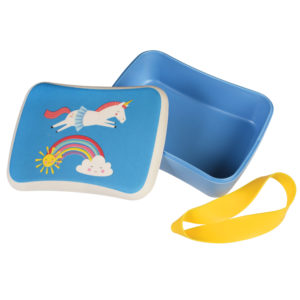 Lunch box bambú Magical Unicorn