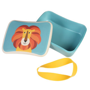 Lunch box bambú Charlie the Lion