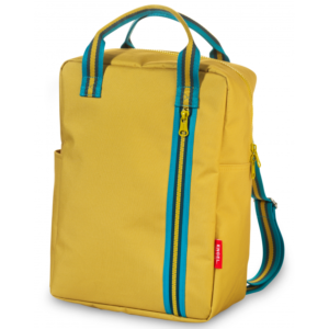 Mochila GRANDE – Zipper YELLOW – NEW!