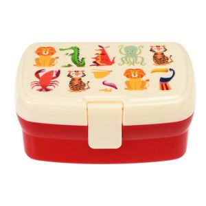 Lunchbox con bandeja – ANIMALS – NEW!